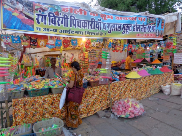 Holi supplies